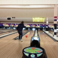 Photo taken at South Levittown Lanes by Brittany T. on 4/1/2012