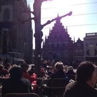 Photo taken at Grand Café Brinkmann by Kris C. on 3/11/2012