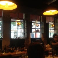 Photo taken at Amis Trattoria by Danielle C. on 7/25/2012