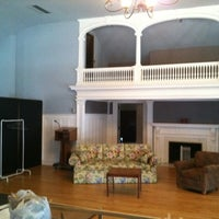 Photo taken at Half Light Theatre @ Roberson Mansion by Nathan B. on 3/21/2012