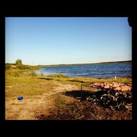 Photo taken at Берег Оби by Дмитрий Л. on 8/25/2012