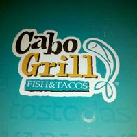 Photo taken at Cabo Grill by netrangermty c. on 3/29/2012