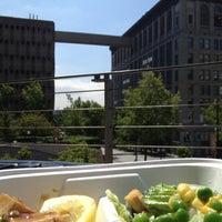 Photo taken at City Hall Plaza by Rodney B. on 8/1/2012