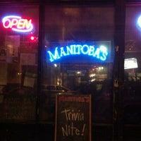 Photo taken at Manitoba's by David H. on 4/27/2012
