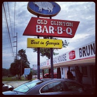 Photo taken at Old Clinton Bar-B-Q by stanley l. on 7/31/2012