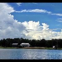 Photo taken at Lake Kerr by Kimberly N. on 7/29/2012