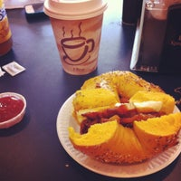 Photo taken at Big City Bagels by Laurie M. on 4/22/2012