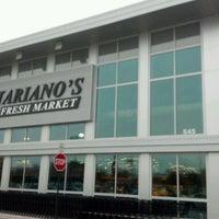 Photo taken at Mariano's Fresh Market by David M. on 2/13/2012
