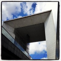 Photo taken at Grande Arche de la Défense by Luisa M. on 8/25/2012