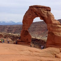 Photo taken at Arches National Park by Tao H. on 5/6/2012
