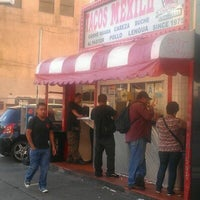 Photo taken at Javier's Tacos Mexico by Vinnie T. on 5/17/2012