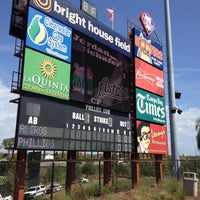 Photo taken at Spectrum Field by Wes W. on 3/7/2012