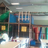 Photo taken at The Moon Family Fun Centre by Sandra D. on 3/18/2012