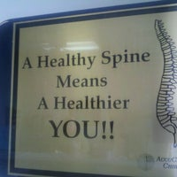 Photo taken at Accucare Chiropractic by Laini A. on 7/10/2012