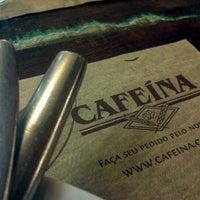 Photo taken at Cafeína by Letícia M. on 2/24/2012