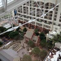 Photo taken at Gaylord National Resort & Convention Center by Leiah N. on 8/19/2012