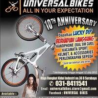 Photo taken at Universal Bikes by Universal Bike j. on 7/11/2012