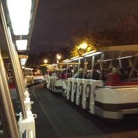Photo taken at Mickey & Friends Tram by Kien P. on 4/1/2012