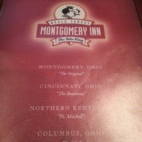 Photo taken at Montgomery Inn by Mario H. on 9/8/2012