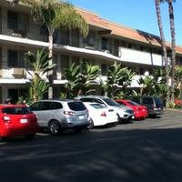 Photo taken at Days Inn San Diego Hotel Circle Near SeaWorld by Nick C. on 2/25/2012