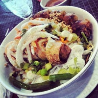 Photo taken at Hoa Bien Vietnamese Restaurant by Tina W. on 7/30/2012