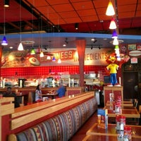 Photo taken at Red Robin Gourmet Burgers by Darlene G. on 7/3/2012