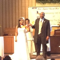 Photo taken at First Baptist Church West by Mahogany W. on 8/4/2012