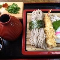 Photo taken at 麺坊 蕎麦博 by 徘徊旅人  M. on 8/19/2012