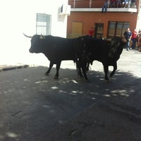 Photo taken at Los Encierros by Antonio on 9/13/2012