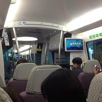 Photo taken at MTR Airport Station by nadokazu on 8/10/2012