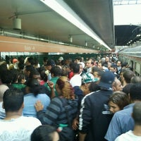 Photo taken at Estação Guaianases (CPTM) by Marcelo M. on 4/27/2012