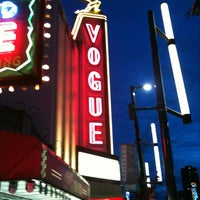 Photo taken at Vogue Theatre by Americo O. on 4/9/2012