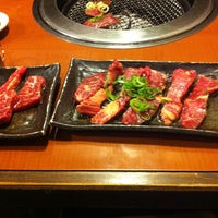 Photo taken at 焼肉洞 by Reiko Y. on 7/8/2012