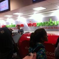 Photo taken at VivaAerobus by Eduardo G. on 4/16/2012