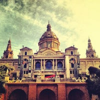 Photo taken at Museu Nacional d'Art de Catalunya (MNAC) by noonehere on 9/2/2012