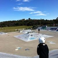 Photo taken at Maroubra Skate Park by Marcelo on 8/26/2012