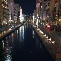 Photo taken at Ebisubashi Bridge by とよっぴ on 5/3/2012