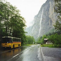 Photo taken at Staubbachfall by Saudiano on 9/2/2012