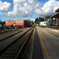 Photo taken at Amtrak Station (MVW) by Kevin S. on 4/14/2012
