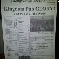 Photo taken at Kingdom Pub by Gonzalo T. on 4/28/2012