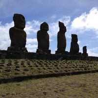 Photo taken at Easter Island by Vicky W. on 8/25/2012