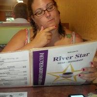Photo taken at River Star Diner by Jennifer F. on 7/17/2012