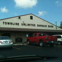 Photo taken at Townline Unlimited Bargain Barn by John C. on 8/14/2012