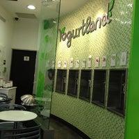 Photo taken at Yogurtland by Omar on 3/10/2012