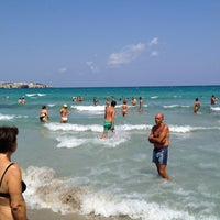 Photo taken at Spiaggia di Torre dell'Orso by Ericucciola on 8/12/2012