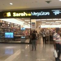Photo taken at Saraiva Megastore by Rafael D. on 3/23/2012