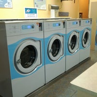 Photo taken at Super Clean Laundromat by Jeff M. on 2/25/2012