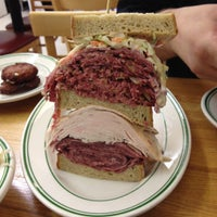 Photo taken at Famous 4th Street Delicatessen by Robert S. on 8/13/2012
