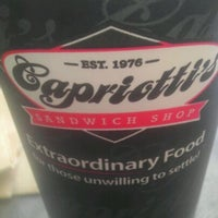 Photo taken at Capriotti's Sandwich Shop by Tim D. on 5/5/2012