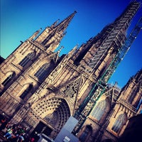Photo taken at Cathedral of Saint Eulalia of Barcelona by Efim on 8/30/2012